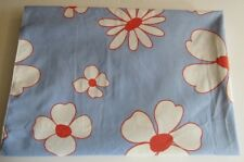 VINTAGE CANNON ROYAL FAMILY FEATHERLITE FLOWER POWER 2 SINGLE FLAT SHEETS,PILLCS