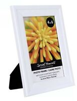 Special Moments Solid White Convex Picture Frames, 4x6 in.