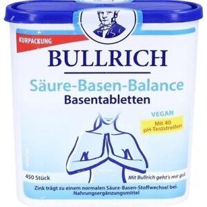 BULLRICH Säure Basen Balance Tabletten 450 St 11089888