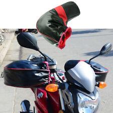 Scooter E Motoslitte Nero Huaxingda Guanti Moto Manubrio Antivento Inverno Spesso Caldo Manubrio Muffs Guanti Copertura Termica Per Motocicli