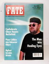FATE-Magazine-July-2005-Issue-Confederate Ghosts Bigfoot UK Man w Healing Eyes