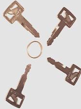 Hitachi construction digger Excavator loader Key Set 4 Keys  H800 H805 H806 H808