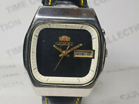 Vintage Orient Mens Analog Dial Mechanical Automatic Wrist Watch OG104 F