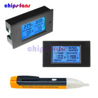DC6.5~100V 20A/50A LCD Voltage Watt Current Kwh Power Energy Combo Meter Ammeter