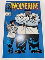 WOLVERINE #8 NM/MINT HIGH GRADE!! Marvel Comics 1989 HULK Appearance!