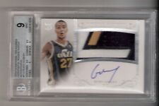 Rudy Gobert 13/14 National Treasures Auto Patch RC #112 Serial #05/10