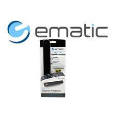 Ematic HD TV Digital Antenna Bypass Cable Satellite Full HD Broadcast TV Free