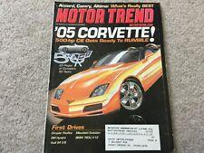 2003 Toyota Camry, Nissan Altima, Honda Accord Motor Trend    Magazine
