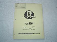 Case C D L La R V Va S tractor shop repair service manual