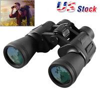Day/Night 10X50 Military Army Zoom Ultra HD 10KM Wide Angle Binoculars W/ Bag US
