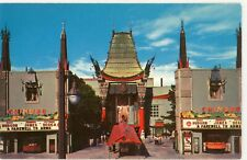"LOS ANGELES CA ""GRAUMAN'S CHINESE THEATRE -A FAREWELL TO ARMS"" UNUSED POSTCARD"