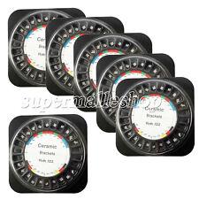 5 Packs Dental Orthodontic Ceramic Bracket Braces Roth 022 Hooks 3 4 5 Sale