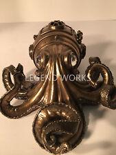Steampunk Octopus Secret Trinket Box Statue Sculpture Figure