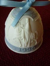 Reduced! Vintage 1990 Lladro Porcelain Christmas Ornament - Three Kings