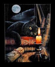 Kleine Leinwand - Witching Hour by Lisa Parker - Schwaze Katze Bild Fantasy Hexe