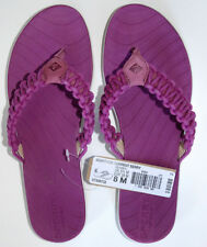 Sperry Top Sider Seabrook Current Berry pink purple 8 womens Flip Flops Sandals