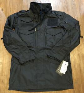 🔥$350 Burton Undefeated Alpha Industries M-65 Trench Jacket Black Dryride M L