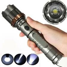 Elfeland 20000LM Tactical Military T6 LED Rechargeable Flashlight Torch Zoomable