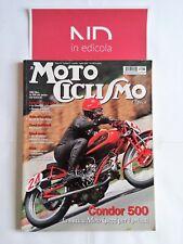 MOTOCICLISMO D'EPOCA LUGLIO 2007 - NSU MAX 250  DUCATI SL 500 PANTAH  GUZZI 500