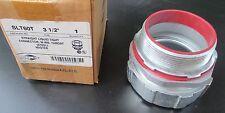 "3 1/2"" Steel Master Straight LiquidTight Connector w/Ins Throat SLT60T"