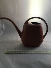 Vintage Phillips 66 Garden Scene Small Orange Plastic Plant Watering Can Aw. #N8