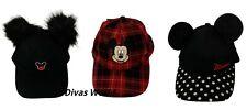 Disney Mickey Minnie Mouse Pompom Baseball Cap Boys Girls Snapback Hat Primark