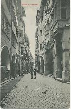 A BOZEN, Laubengasse – ca. 1900 ungebr. s/w AK (Stengel & Co., Dresden)