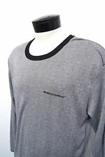 AA Fly American Airlines Commercial Airplane Carrier sz S/M mens L/S#1154
