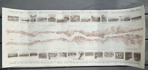 Panorama of the Hudson River from NY to Albany 1845 1979 Clearwater William Wade