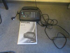 Philips HFC 171 Telefon mit Faxfunktion und Beschreibung