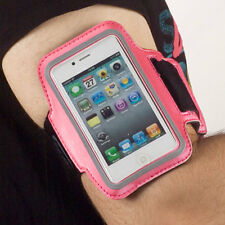 Armband Sport Tasche pink f Apple iPhone 4 / 4s Jogging Fitness Oberarmtasche