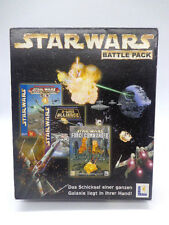 PC Spiel - Star Wars Battle Pack / Force Commander/X-Wing/Rogue(mit OVP)(Bigbox)