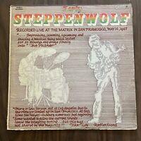 Steppenwolf - Early Steppenwolf - LIVE 1967 LP  VG Rock Vinyl Record Album