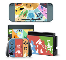 for Nintendo Switch Pokemon Console Body Patterned Protective Sticker Skin Cover