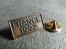 RARE PINS PIN'S - FRANCE 1992 - FOOTBALL - COUPE DE FRANCE - SPORT - DOUBLE PICS