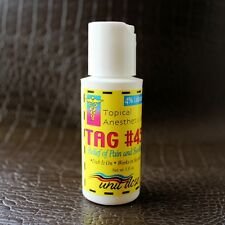 Topical Anesthetic Gel for Relief of PainTattoo Permanent Care Supplies TAG #45