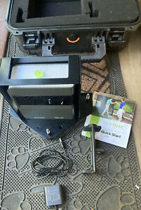 skytrak golf simulator With Shank Tank And Pelli Protective Carry Case