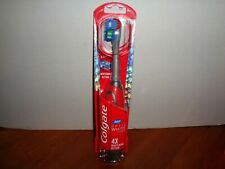 Colgate 360 OPTIC WHITE Platinum Electric Battery Operated SOFT Toothbrush Red