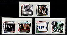 SELLOS  CINE. GRAN BRETAÑA 2007 THE BEATLES SERIE 6 VALORES ADHESIVOS