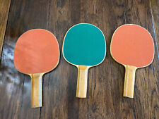 Lot of 3 Table Tennis Ping Pong Paddles