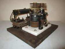 Antike Funkanlage historische Elektrik AEG Telefunken Schwingkreis Frequenz