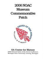 OA 2006 NOAC - Museum Commemorative Patch