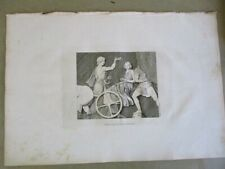 Early Engraving,1787,CHARIOTEERS,Pl.20,Antiquities of Athens,1stED.,Architecture