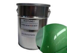 3 litres peinture de base pour pulvérisation VW AUDI ly6k vert métallique