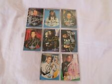 Babylon 5 8x autographed trading cards