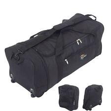 XL Extra Large 30 Inch Wheeled Travel Luggage Suitcase Holdall Case Folding Bag