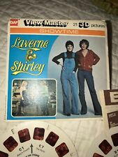Vintage Laverne And Shirley The Slow Child 3 Reel Viewmaster 21 3 D Pictures