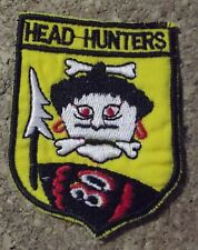 Ecusson/patch - Vietnam US Air force - 80th fighter squadron headhunters