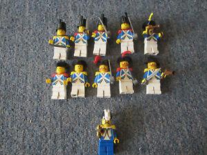 11 LEGO Imperial Soldier Guard bundle Eldorado Fortress 6276 Castle Legoland