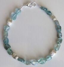 Semi Precious Stone Turquoise Apatite Bracelet